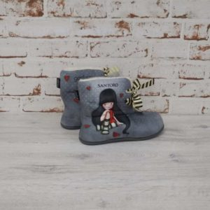 Botas de casa Gorjuss The Collector gris