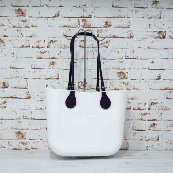bolso o bag blanco asas largas