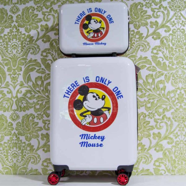 Maleta cabina y neceser Disney Mickey Mouse - There is only one