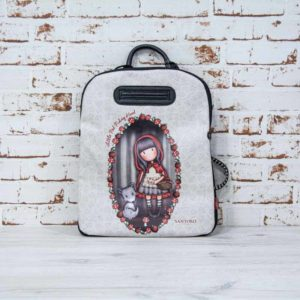 Mochila casual de paseo GORJUSS colección LITTLE RED RIDING HOOD