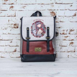 Mochila plana Gorjuss Little Red Hood