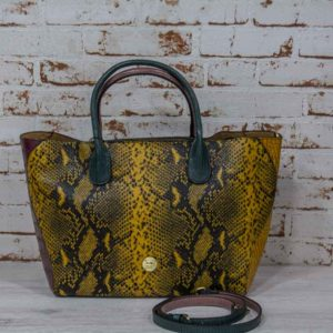 Bolso shopping MIX REPTIL Martina K -