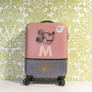 Maleta Disney cabina MICKEY THE BLOGGER rígida 55cm