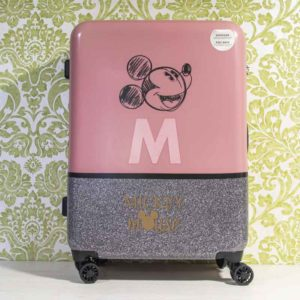 Maleta mediana Disney Maleta Disney MICKEY THE BLOGGER rígida 68cm